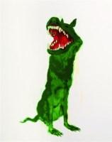 绿狗 版画 - 周春芽 - 油画版画 - 2007太平洋秋季艺术精品拍卖会 -收藏网