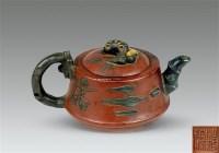 紫砂梅花壶 -  - 中国玉器杂项专场 - 2011首届秋季拍卖会 -收藏网
