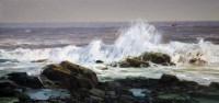 莲花洋系列之二 - 毛文佐 - 油画 水彩画专场 - 2008春季拍卖会 -收藏网