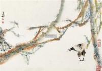 花鸟 镜片 水墨纸本 - 20146 - 小品、成扇专场 - 2011秋季艺术品拍卖会 -中国收藏网