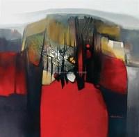 山林之诗 油画 框 - 158378 - 油画 中国书画 杂项 - 2008欢乐节艺术品拍卖会 -收藏网