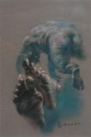 素描  纸本 素描 - 夏小万 - 中国油画(一)当代专场 - 2007春季大型艺术品拍卖会 -收藏网