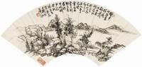 山水 - 陈衡恪 - 近现代书画专场 - 2008年春季大型艺术品拍卖会 -收藏网