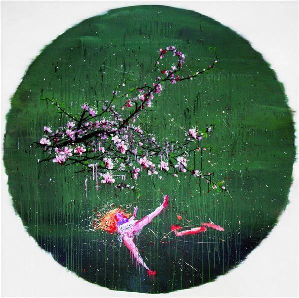 未来之树-A 布面 油画 - 3828 - 油画版画 - 2007太平洋秋季艺术精品拍卖会 -收藏网