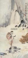 猴 镜框 设色纸本 - 122234 - 中国书画 - 2011年夏季艺术品拍卖会 -中国收藏网