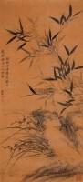 三友图 立轴 纸本水墨 - 孙铨 - 中国书画 - 2005年春季拍卖会 -收藏网
