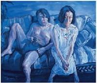王岩  焦点时刻 - 王岩 - 油画暨雕塑 - 2007年秋季艺术品拍卖会 -收藏网