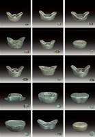 传世银锭一组共15锭 -  - 杂项 - 2007年春季大型艺术品拍卖会 -收藏网