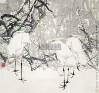 香雪图 立轴 纸本 - 10403 - 中国书画(二) - 2011春季艺术品拍卖会(一) -收藏网