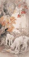 刘淼汉 乡情 镜心 设色纸本 -  - 当代中国书画(一) - 2006畅月(55期)拍卖会 -收藏网