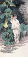 人物 镜心 设色纸本 - 王有政 - 中国当代书画 - 2006秋季艺术品拍卖会 -中国收藏网