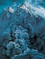 冬趣 布面 油画 - 王路 - 中国现当代艺术 - 2007迎春拍卖会 -收藏网