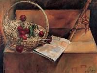 乡音乡情 布面油画 - 154473 - 油画专场 - 2006迎春首届大型艺术品拍卖会 -收藏网