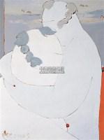 无题 布面 油画 - 庞永杰 - 中国油画 雕塑影像 - 2006广州冬季拍卖会 -收藏网