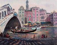 威尼斯 油彩 画布 - 157717 - 现代与当代艺术 - 2011台北秋季拍卖会 -收藏网