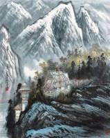 翠湖幽居 软片 - 4706 - 中国书画(一) - 2011秋季书画拍卖会 -收藏网