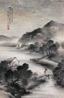 山水 立轴 设色纸本 -  - 中国书画 - 四季精品拍卖会 -收藏网