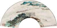 山水扇面 - 20516 - 中国书画 - 2011年江苏景宏国际春季书画拍卖会 -收藏网