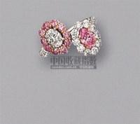 天然鲜彩紫粉红钻石配钻石戒指 -  - 珠宝翡翠 - 2010年春季拍卖会 -收藏网