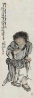 刘海戏金蟾 立轴 设色纸本 - 4983 - 中国书画一 - 2011春季艺术品拍卖会 -收藏网