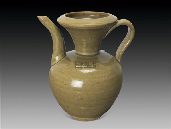 青釉执壶 -  - 古董珍玩 - 2012迎春艺术品拍卖会 -收藏网