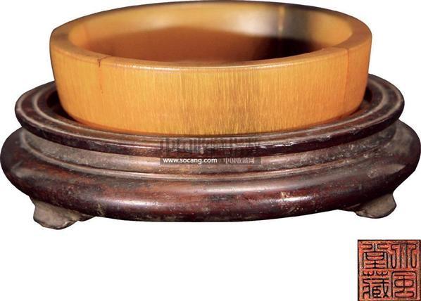犀角水洗 -  - 古董文玩 - 2011春季艺术品拍卖会(一) -收藏网