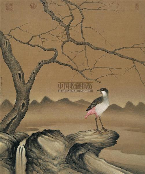 偶然记忆 2004.9.19 布面丙烯 - 123268 - 当代与唯美 中国油画雕塑 - 2008春季大型艺术品拍卖会 -收藏网