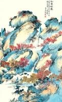 吴桐 山水 - 吴桐 - 书画 - 2007年春季大型艺术品拍卖会 -收藏网