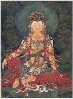 张明楼 水月观音 镜心 -  - 中国书画 - 2007年秋季艺术品拍卖会 -收藏网