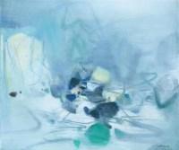 朱德群 无题 - 朱德群 - 中国当代艺术(一) - 2007春季拍卖会 -收藏网