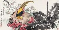焦可群 春回大地 镜心 设色纸本 - 焦可群 - 中国书画 - 2006首届慈善拍卖会 -收藏网