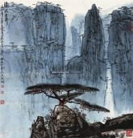 清凉世界 立轴 设色纸本 - 139886 - 中国书画 - 四季精品拍卖会 -收藏网