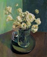 白色康乃馨 布面油画 - 140771 - 油画专场 - 2006迎春首届大型艺术品拍卖会 -收藏网