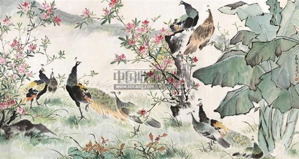长春图 镜心 - 116837 - 中国书画 - 2011年春季艺术品拍卖会 -中国收藏网