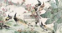 长春图 镜心 - 116837 - 中国书画 - 2011年春季艺术品拍卖会 -收藏网