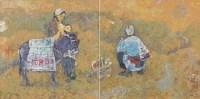 大红枣 布面 油画 - 阎振铎 - 中国油画 - 2008春季大型拍卖会 -收藏网