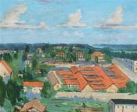 林中小河旁 木板油画,整木、无衬板 -  - 18-19世纪欧洲古典油画 - 鹏盛金辉中外油画专场 -收藏网