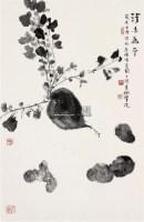 蔬果图 立轴 - 119597 - 中国书画 - 2008春季拍卖会 -收藏网