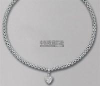 钻石吊坠项链 -  - 珠宝翡翠 - 2010年春季拍卖会 -收藏网