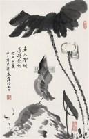 花鸟 立轴 水墨纸本 - 129087 - 中国书画 - 第117期月末拍卖会 -中国收藏网