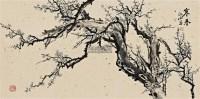 寒香 镜框 设色纸本 - 142769 - 名家作品(一) - 第16届广州国际艺术博览会名家作品拍卖会 -收藏网