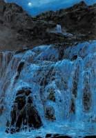月色 布面  油画 - 王路 - 中国现当代艺术 - 2007年夏季拍卖会 -收藏网