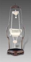白玉雕佛灯红秋图挂瓶 -  - 玉器 陶瓷 - 十周年庆典拍卖会 -中国收藏网