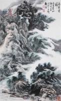姚耕云 高寺云归 - 141334 - 中国书画 - 浙江方圆2010秋季书画拍卖会 -收藏网