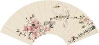花鸟 扇面 设色纸本 - 3898 - 中国书画一 - 2011秋季艺术品拍卖会 -中国收藏网