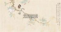 花卉 镜框 纸本 -  - 中国古代书画、书法专场 - 2011首届春季拍卖会 -收藏网