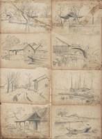 风景 - 颜文梁 - 中国书画 - 2007年秋季拍卖会 -收藏网