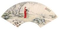 管平 立雪探梅 - 133888 - 中国书画 - 2007年艺术品拍卖会 -收藏网