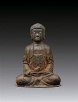 阿弥陀佛像 -  - 妙法修心(一)——佛像专场 - 2011年秋季艺术品拍卖会 -收藏网