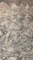 雪山行旅图 立轴 设色纸本 - 钱榖 - 中国古代书画 - 第9期精品拍卖会 -收藏网